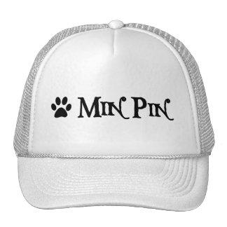 Pin del minuto (estilo del pirata con el pawprint) gorro de camionero