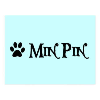 Pin del minuto estilo del pirata con el pawprint postal
