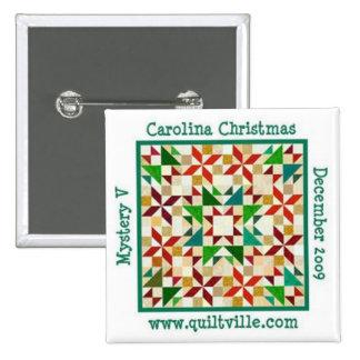 Pin del navidad de Carolina Pin Cuadrada 5 Cm