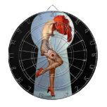 Pin del ojo de la cerradura para arriba tablero de dardos