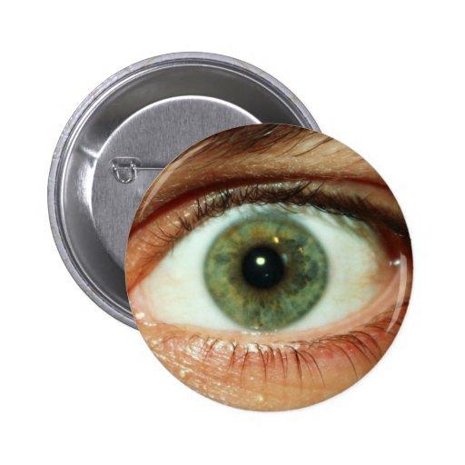 Pin del ojo verde
