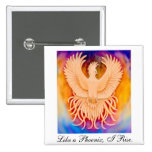 Pin del pájaro de Phoenix