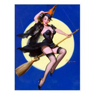 Pin del paseo del claro de luna para arriba tarjeta postal