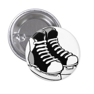Pin del patín del hockey pin redondo 2,5 cm