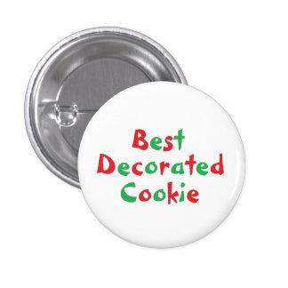 """Pin del premio de la """"mejor galleta adornada"""""""