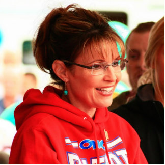 Pin del recorte de Sarah Palin Pin Fotoescultura