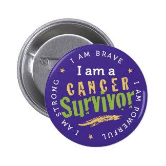 Pin del superviviente del cáncer
