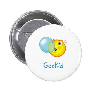 Pin del Swag de GeoKid Bubblegum Geocaching