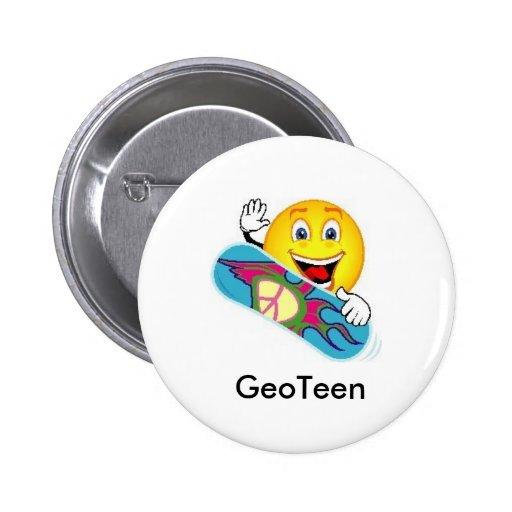 Pin del Swag de GeoTeen Geocaching