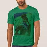 Pin del verano de la playa de Gil Elvgren del vint Camisetas