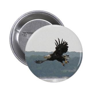 Pin del vuelo de Eagle