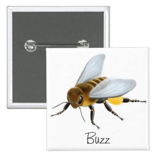 Pin del zumbido de la abeja de la miel