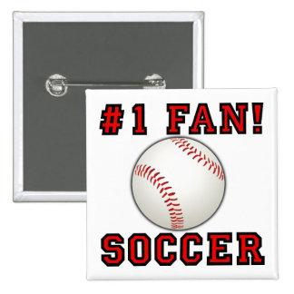 Pin divertido de la insignia del botón del béisbol