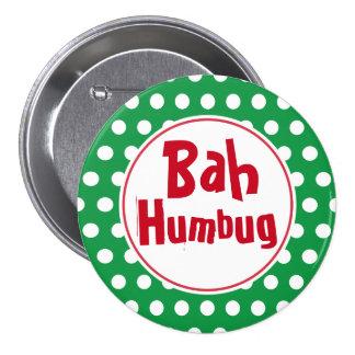 Pin divertido del botón del navidad del