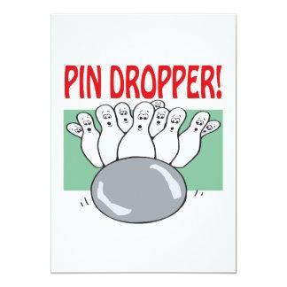 Pin Dropper 5x7 Paper Invitation Card