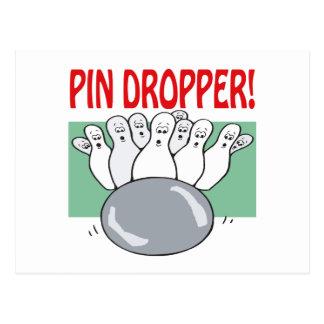 Pin Dropper Postcard