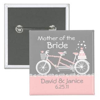 Pin en tándem del banquete de boda de la bicicleta