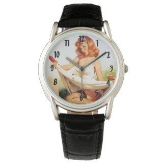 Pin encima de bebés relojes de pulsera
