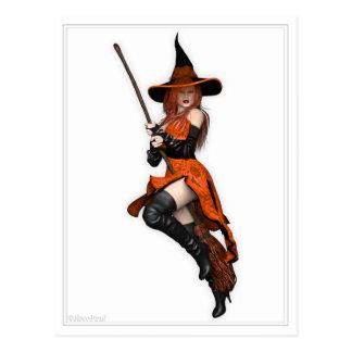 Pin encima de la postal - ~ Halloween de la