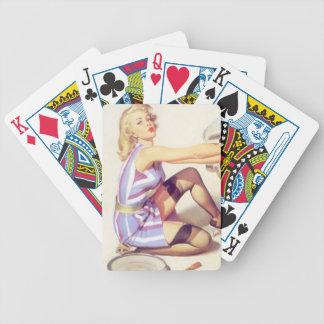 Pin encima de Sexie práctico Baraja Cartas De Poker