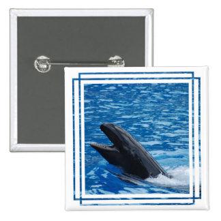 Pin falso de la orca