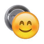 Pin feliz de Emoji