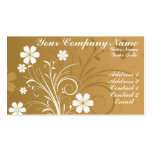 Pin Flowers Double-Sided Standard Business Cards (Pack Of 100)