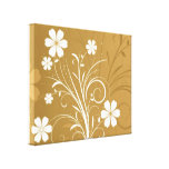 Pin Flowers Stretched Canvas Prints