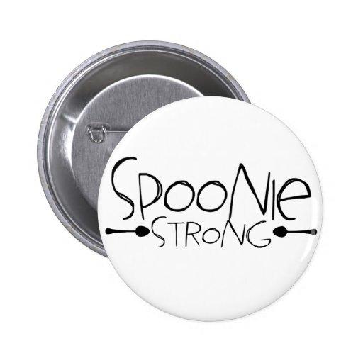 Pin fuerte de Spoonie