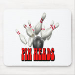 Pin Heads Bowling Mouse Pad