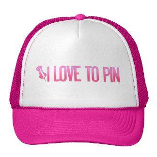 [PIN] I Love To Pin Trucker Hat
