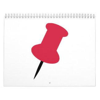 Pin icon calendar