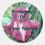 Pin Iris Property Sticker