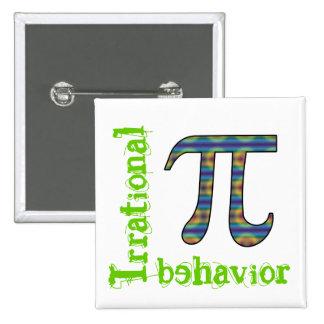 Pin irracional del comportamiento del símbolo del