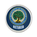 Pin jubilado Departamento de Educación de la solap
