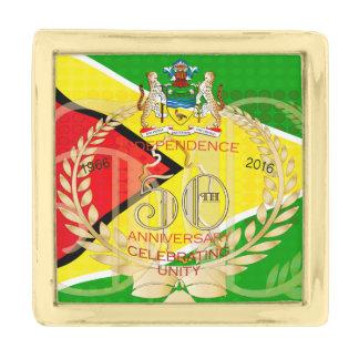 Pin la República de Guyana, 50.o Independe feliz Pins Dorados