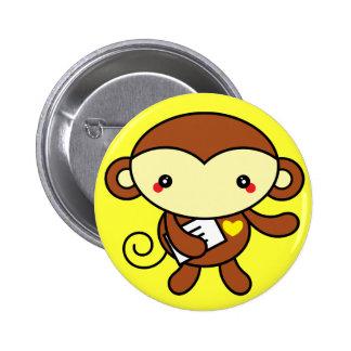 Pin lindo del mono