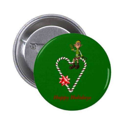 Pin masculino del botón del día de fiesta del navi