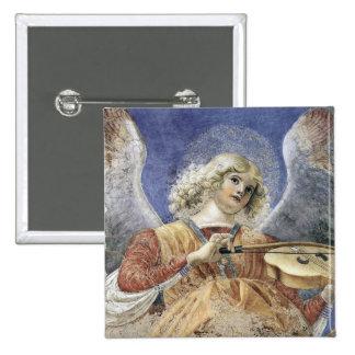 Pin Melozzo del botón del cuadrado del ángel del r
