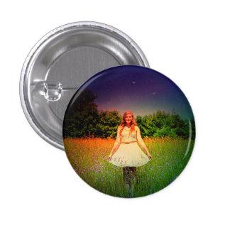 """""""Pin minúsculo de la ninfa del prado"""" Pin Redondo 2,5 Cm"""