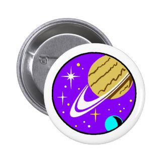 Pin-On Badge - Cosmology