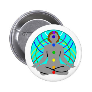 Pin-On Badge - Psychic Arts 2 Inch Round Button