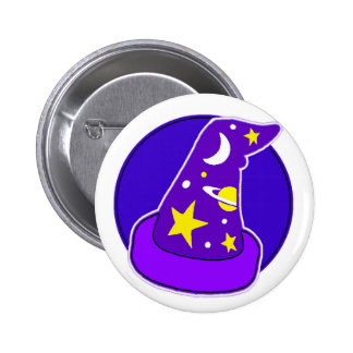 Pin-On Badge - Wizardry 2 Inch Round Button