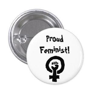 Pin orgulloso de la feminista