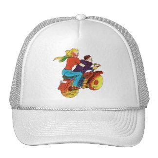 Pin-Para arriba de la motocicleta Gorro De Camionero