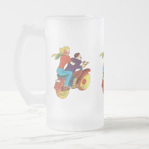 Pin-Para arriba de la motocicleta Tazas De Café