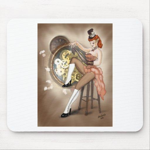Pin-para arriba de Steampunk Sally Alfombrilla De Ratones