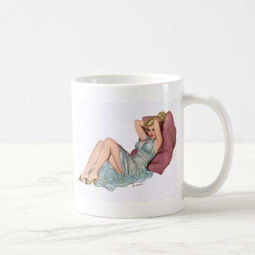 Pin para arriba tazas de café