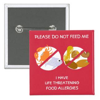 Pin peligroso para la vida de la alergia de los