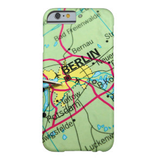 Pin placed on map in Berlin, Germany Barely There iPhone 6 Case